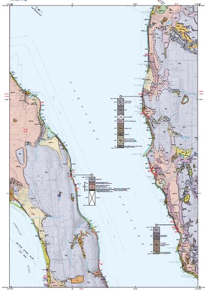 Camano 7.5-minute quadrangle, Island County WA. Washington Division of Geology and Earth Resources, 2009.