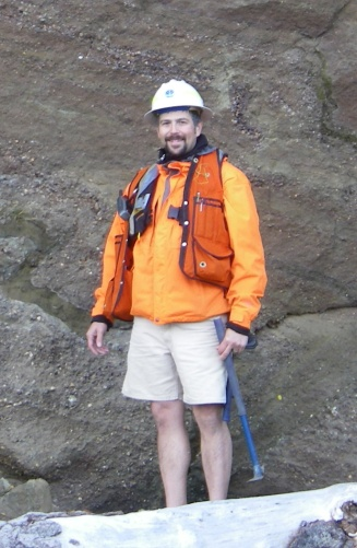 Trevor Contreras, mapping geologist for the Washington Division of Geology and Earth Resources. Photo courtesy of T. Contreras.
