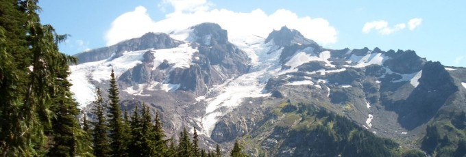 Glacier Peak as seen from the Pacific Crest Trail, September 2013. Image courtesy of J. Eric Schuster.