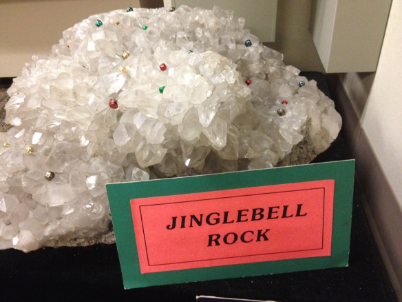 Jingle Bell Rock in the DGER office foyer.