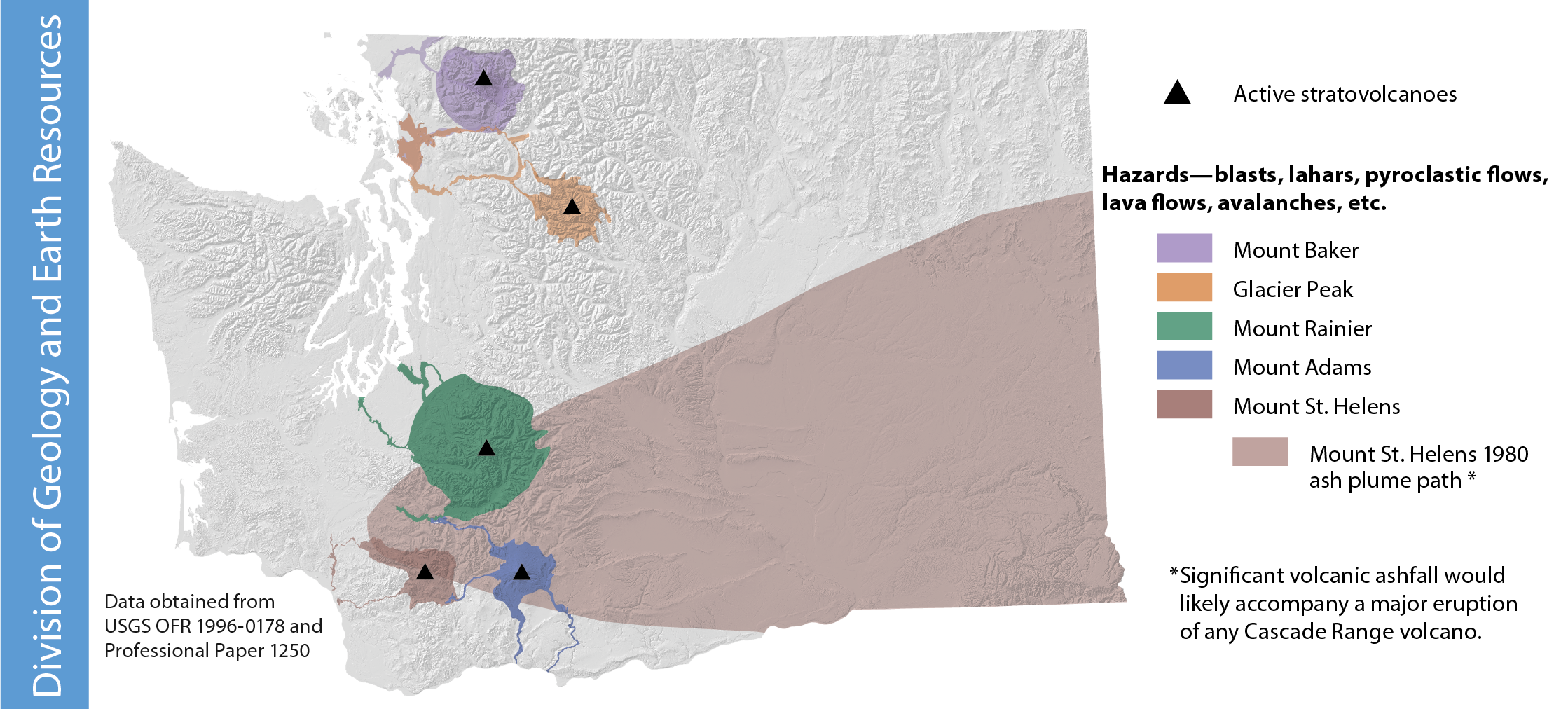 Mt St Helens Washington Map.35th Anniversary Of The Eruption Of Mount St Helens Washington