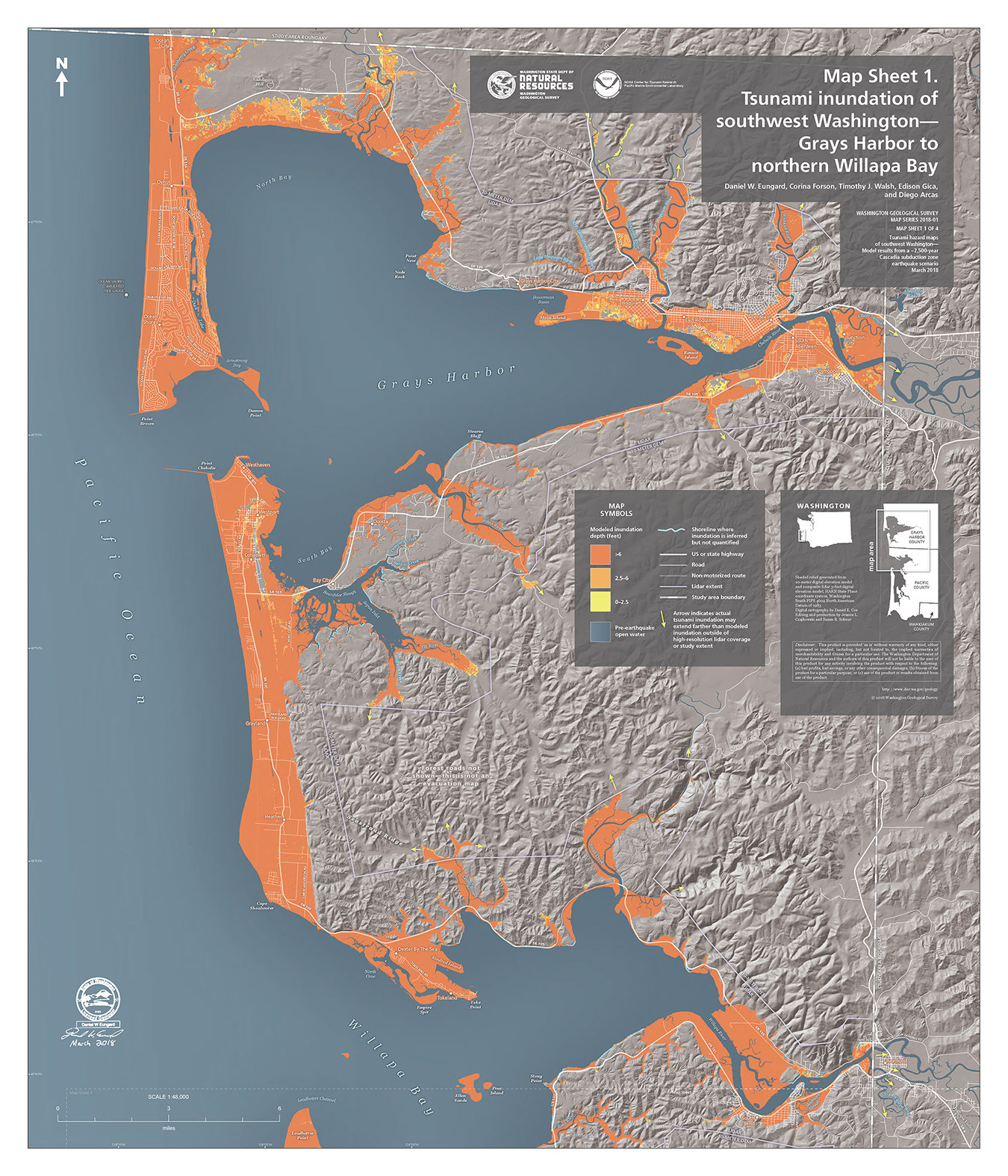 Newly Published: Southwest Washington Tsunami Inundation Hazard Maps ...